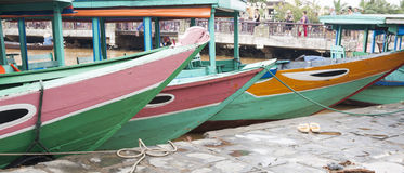 River boats. Royalty Free Stock Photography