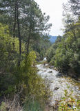 River Borosa Walking Trail in the Sierra Cazorla Mountains Stock Photography