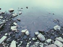 River bottom. Photo of river bottom Stock Photography