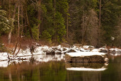 River Boulder Royalty Free Stock Images