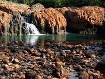River and boulders Stock Photography