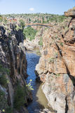 River at the bourkes potholes in south africa Stock Photography