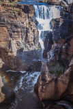 River at the bourkes potholes in south africa Royalty Free Stock Image