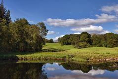 The river Brathay, Elterwater Stock Photography