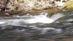 River breaker side view stock video