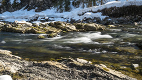 River Breitach in the Alps Royalty Free Stock Image