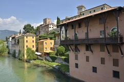 The river Brenta Stock Photography