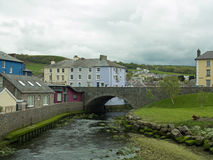 River bridge and landscape Stock Image