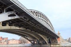 the river bridge in Moscow Stock Photos