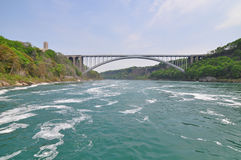 River, and bridge Stock Photography