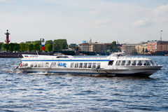 River bus, St. Petersburg Royalty Free Stock Photography
