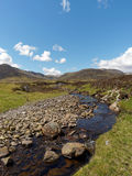 River Calder, Glen Banchor, Scotland west highlands in spring Royalty Free Stock Images