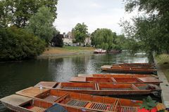 River Cam Royalty Free Stock Photography