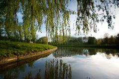 River Cam in Cambridge Stock Photos