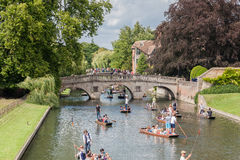 River Cam Cambridge England Royalty Free Stock Photo