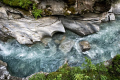 A river in Canada royalty free stock photography