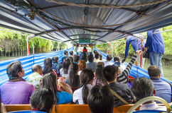 River ferry in bangkok thailand Stock Photography