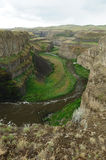 River and canyon Stock Photography