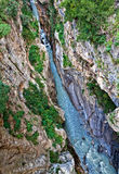 River canyon Royalty Free Stock Photography