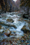 River in a canyon Stock Image