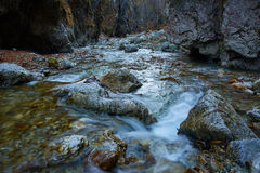 River in a canyon Royalty Free Stock Photos