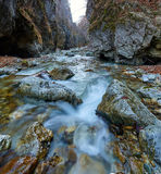 River in a canyon Royalty Free Stock Photo