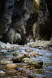 River in a canyon Royalty Free Stock Images