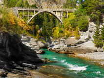 River and canyon, New Zealand Royalty Free Stock Photo