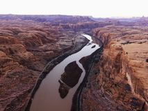 River in Canyonlands, Utah. Stock Photography