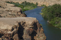 River in the canyons Stock Photography