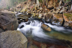 River in the Carpathian mountains Royalty Free Stock Image
