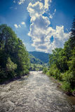 River in the Carpathian mountains Royalty Free Stock Photography