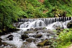 River in Carpathian mountains Royalty Free Stock Photos