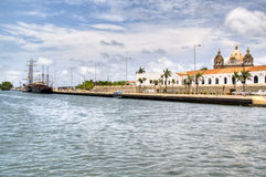 The river at Cartagena Royalty Free Stock Images