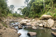 River at the Cascada Blanca waterfall near Matagalpa, Nicaragua Stock Photos