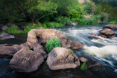 River cascades Royalty Free Stock Photo