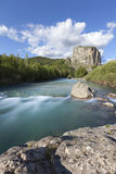 River in Castellane, Provence Royalty Free Stock Image