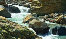 River in Caucasus Stock Images