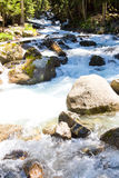 River in Caucasus mountains Royalty Free Stock Image