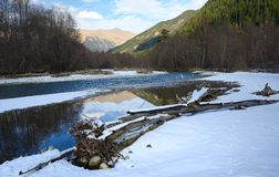 River in Caucasus Royalty Free Stock Photos