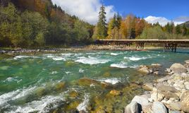 River in Caucasus Royalty Free Stock Photography