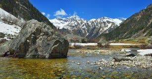River in Caucasus Royalty Free Stock Photos