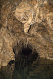 River cave entrance 3 Stock Photography