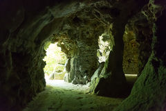 River in caves Royalty Free Stock Photography
