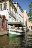 River Certovka (the Davil's Stream) in Prague, CZECH REPUBLIC Stock Photo