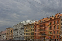 River channel in Saint-Petersburg. Stock Photography