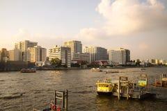 River. Chaophaya river in bangkok thailand Royalty Free Stock Image