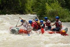 The river Charyn, Turgen, Kazakhstan - 21,07,2013 Royalty Free Stock Photo