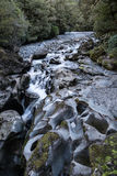 River at the Chasm in Fiordland National Park, New Zealand. Royalty Free Stock Photography