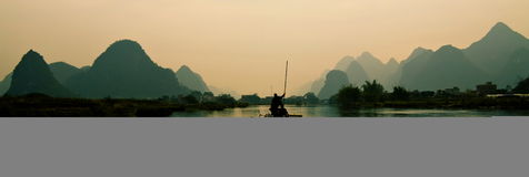 River of China Royalty Free Stock Photos